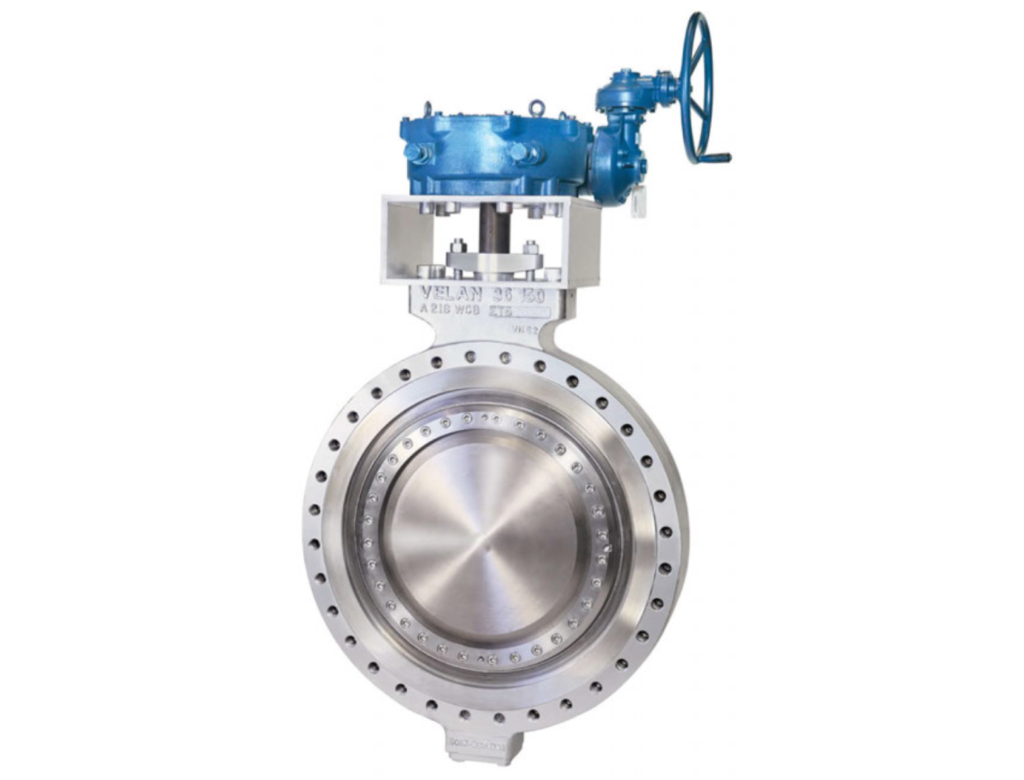 Torqseal triple-offset butterfly valve, the one tested with this new coating