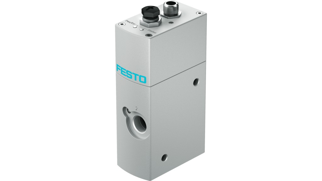 New Flow Control Valve By Festo Industrial Valve News