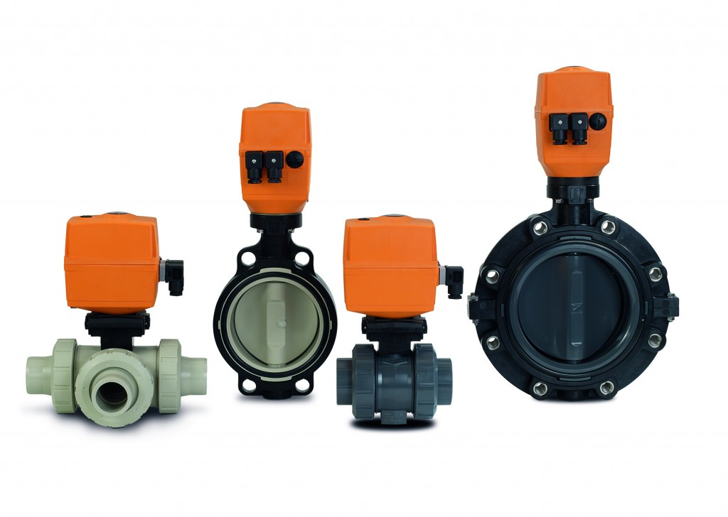 The EA25-250 actuators by GF Piping Systems