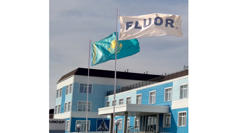 Fluor Joint Venture creates one of the world's largest plant designs for Tengiz Oil & Gas megaproject in Kazakhstan