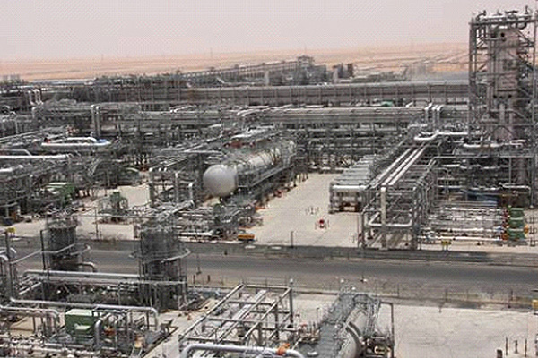 The Saudi Aramco's Khurais oilfield (courtesy of Hydrocarbons Technology)