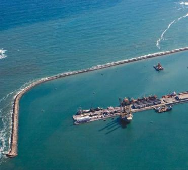 The Takoradi Port (courtesy of Ghana Oil Watch on <a href=