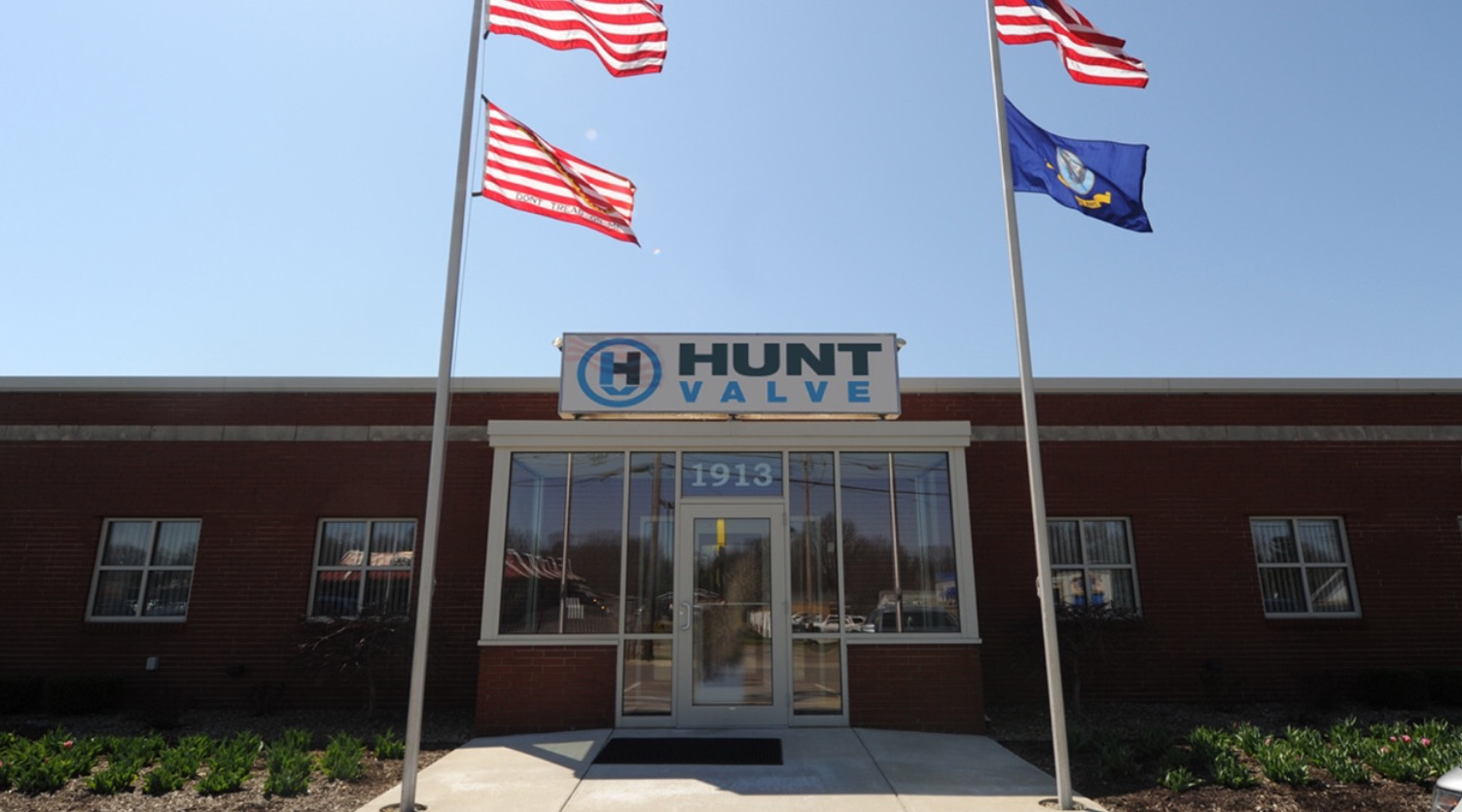 Hunt Valve headquarters in Salem, Ohio.