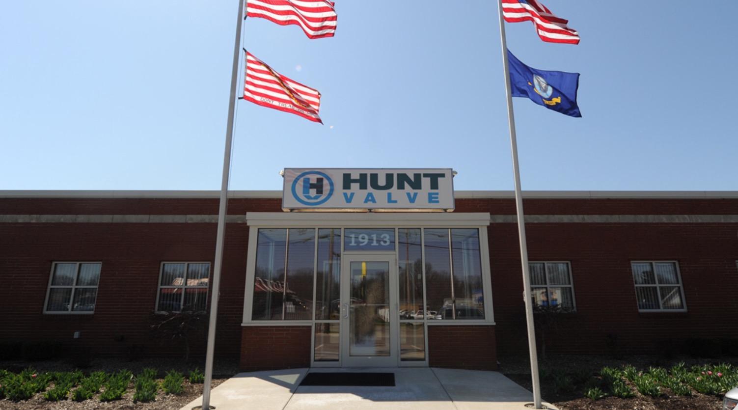 Hunt Valve headquarters in Salem, Ohio.