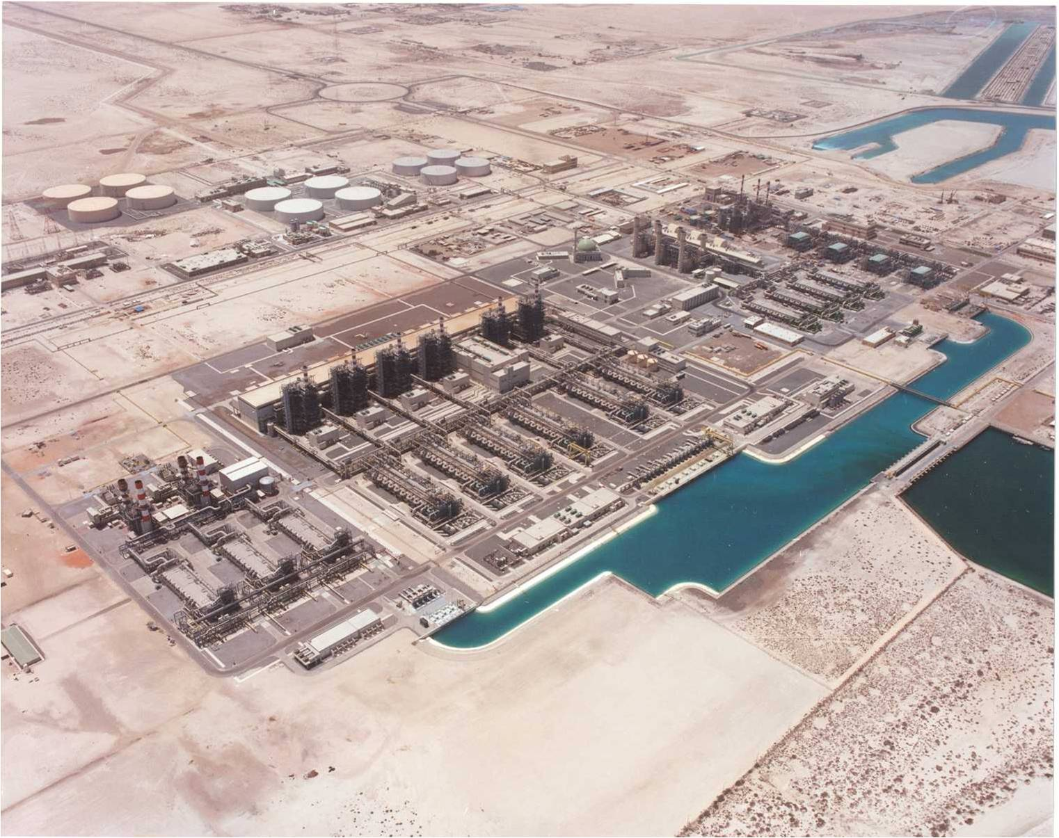 The Taweelah Power and Water Complex (courtesy of Tapco)