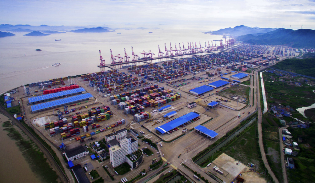 A view of the port area of Niangbo industrial cluster (image courtesy of  Jingsourcing.com)