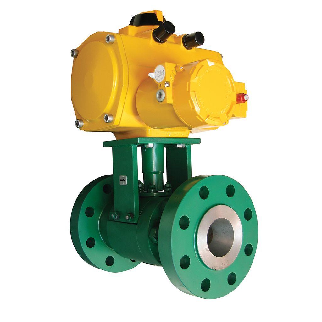 Emerson's Fisher Z500 valve (courtesy of Emerson)