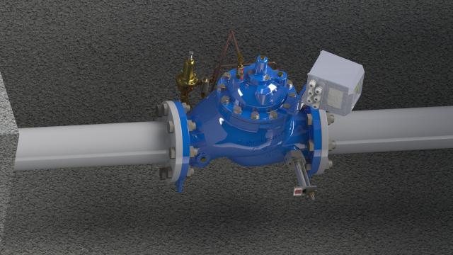 The SPI-MV battery-powered flowmeter by Singer Valve (courtesy of Empowering Valves)