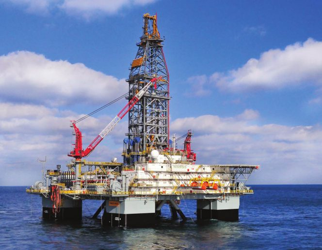 The ENSCO 8503 rig used in the Zama-1 field (image courtesy of offshorenergytoday.com)