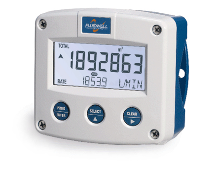 The F-Series flow monitoring system (image courtesy of Fluidwell)