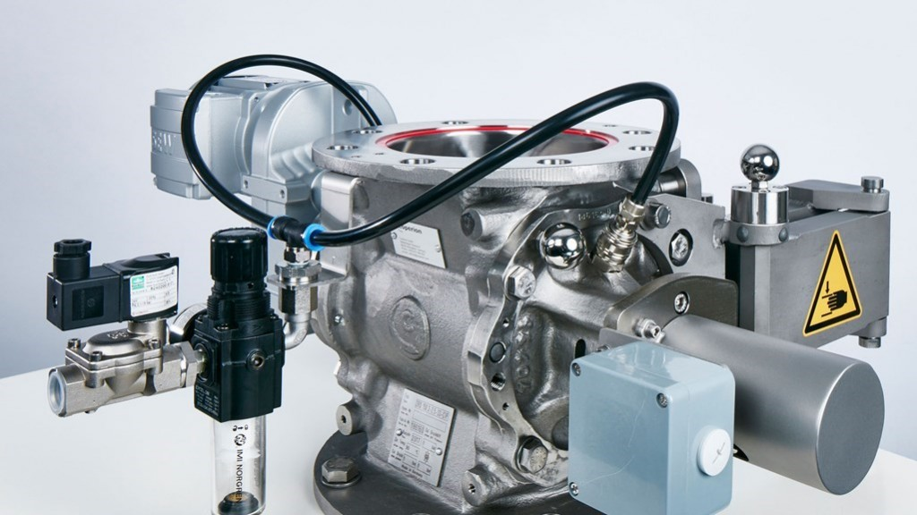 A ZRD 150 rotary valve with RotorCheck (image courtesy of Coperion)