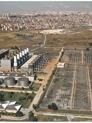 The Ambarli A combined-cycle power plant in Istanbul, Turkey. (image courtesy of Emerson)