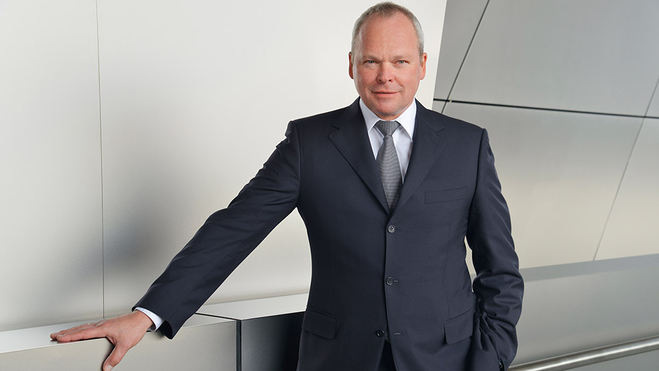 Stephan Schaller, the new CEO of Voith (image courtesy of Voith)