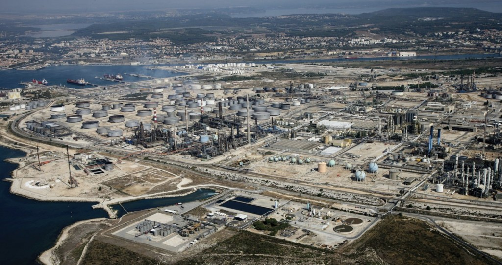 A view from the Ineos refinery in Lavéra, France (image courtesy of Ineos)