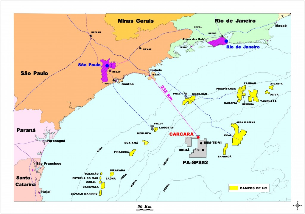 A map of the cascara area (image courtesy of presalt.com)