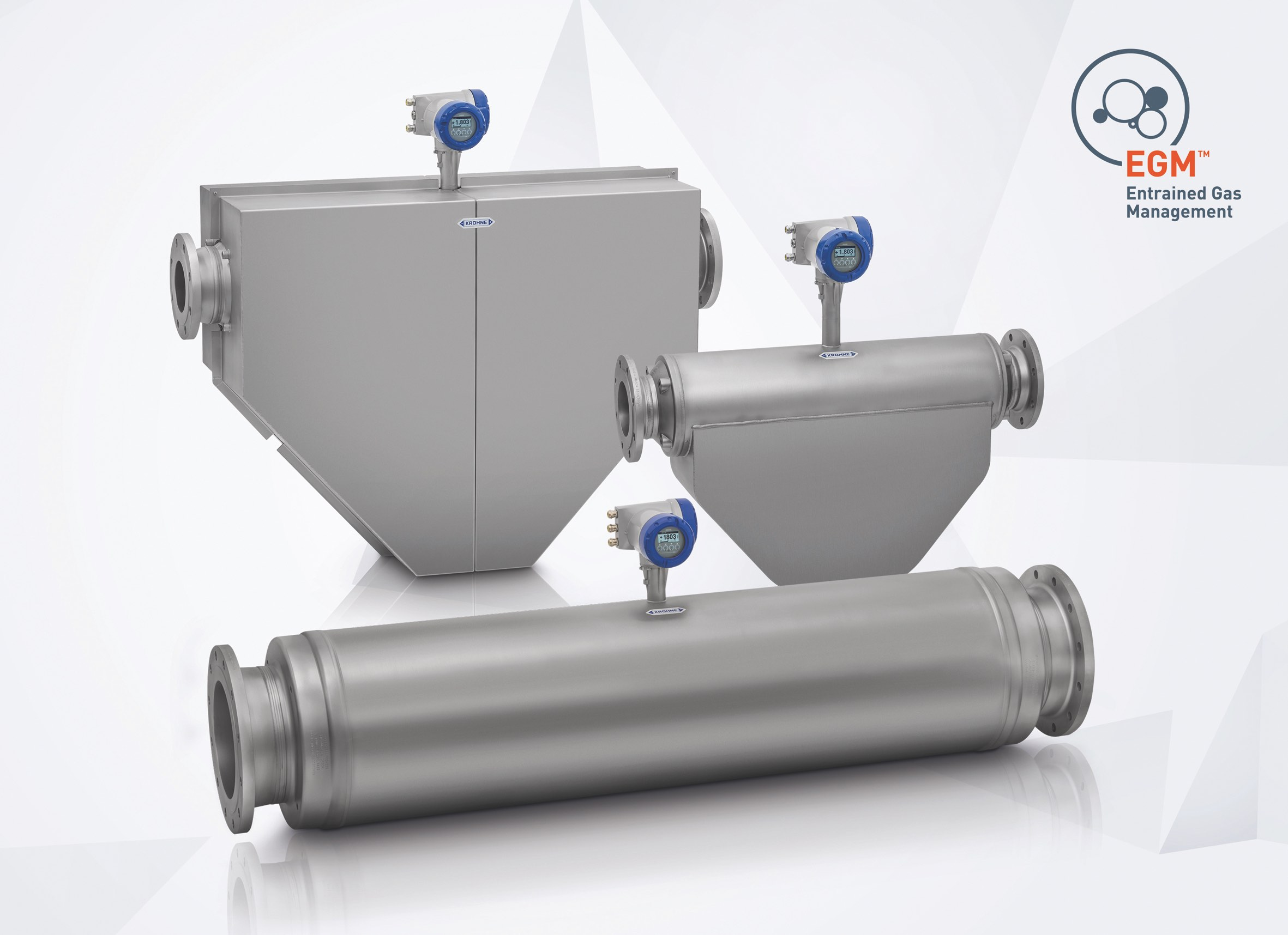 The new OPTIMASS series by Krohne (image courtesy of Krohne)