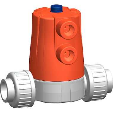 The GF 604/605 valve (image courtesy of GF Piping Systems)