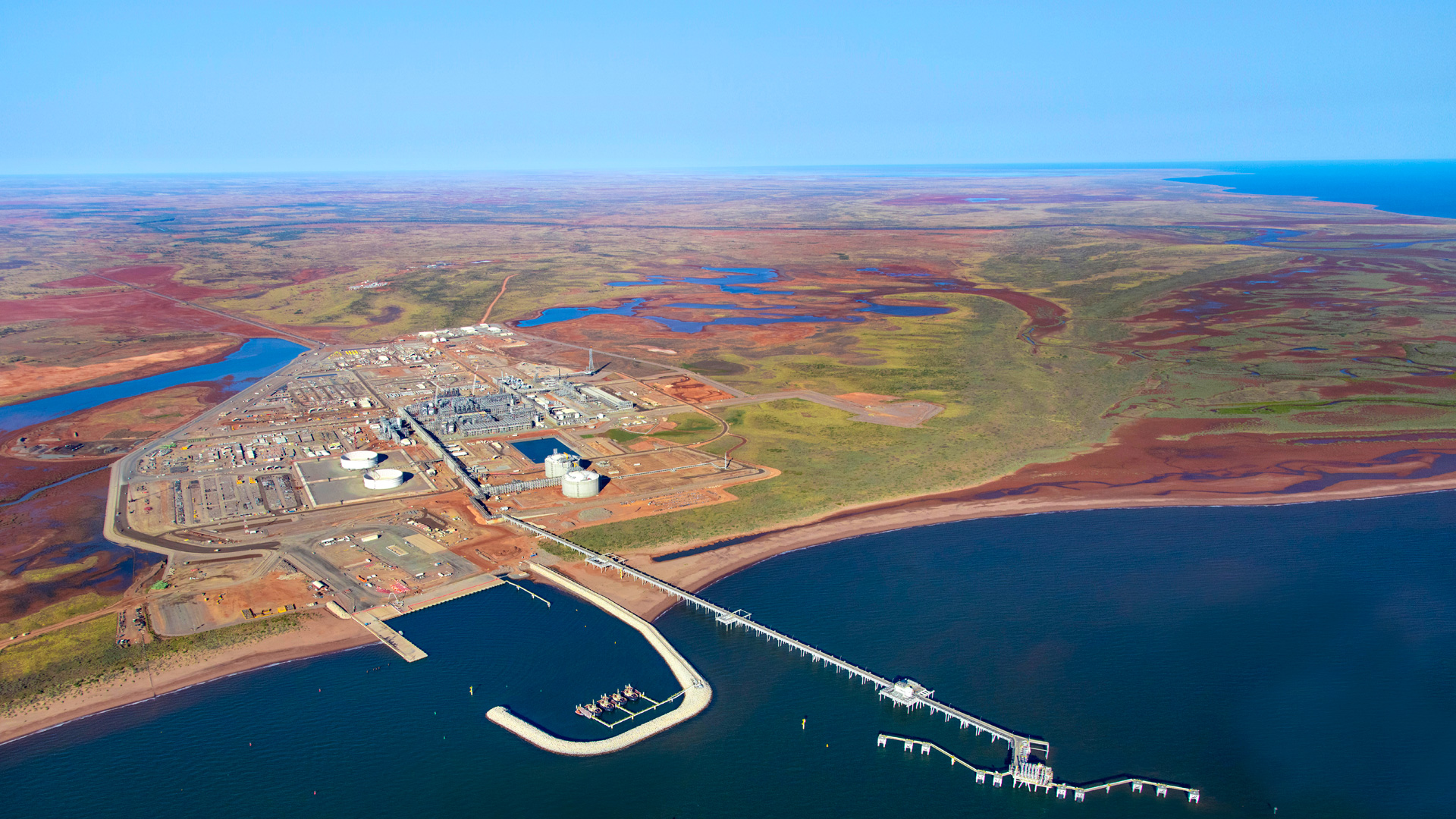The Wheatstone project area (image courtesy of Chevron)