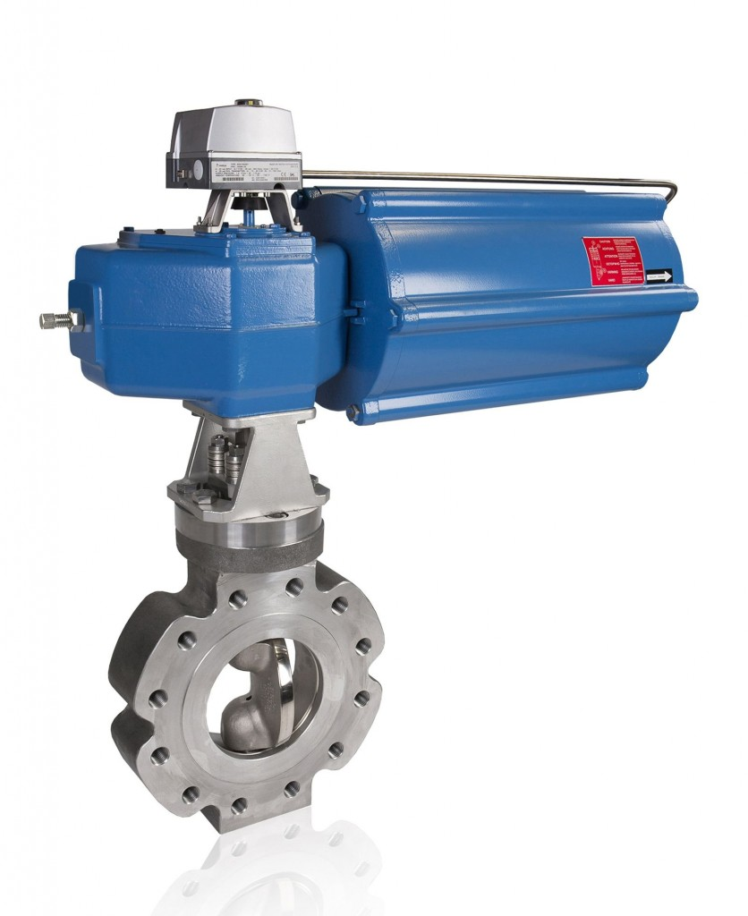 Metso's Neles BWX valve, among the ones supplied in these agreements. (Image courtesy of Metso)