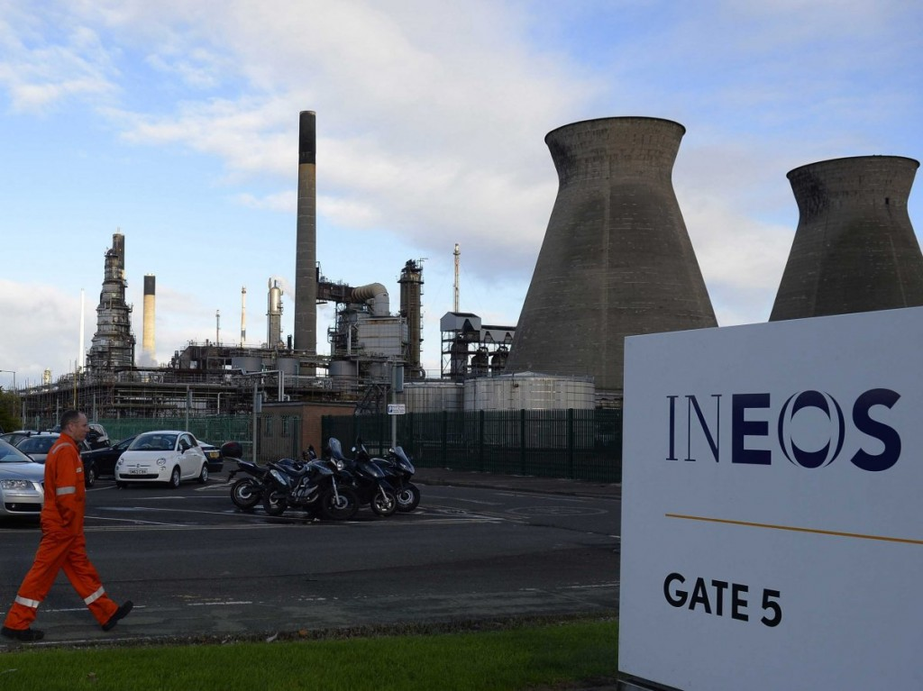 The Ineos Grangemouth plant (REUTERS/Russell Cheyne)