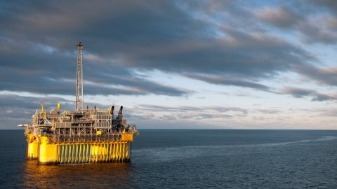 The Troll C platform (image courtesy of Statoil)