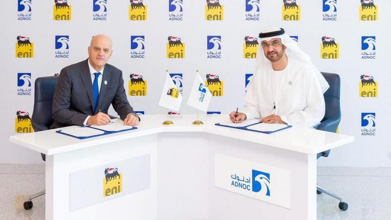Adnoc awards Eni 25% stake in multi-billion dollar gas concession