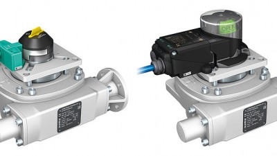 Smart end position monitoring for manually operated valves