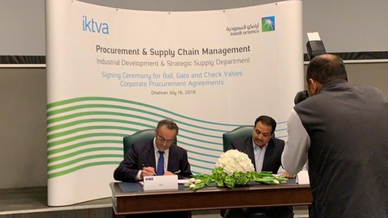 OMB Valves signs Corporate Purchase Agreement with Saudi Aramco to expand its local presence in the Kingdom