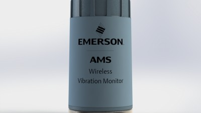 Emerson's new easy-to-deploy vibration sensor simplifies asset monitoring