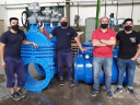 Klinger supplies valves for a large sewer project in Argentina