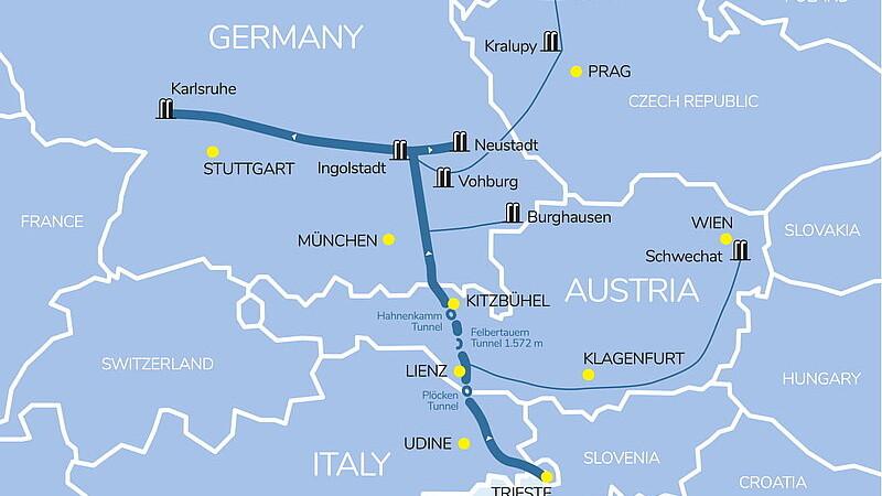 Auma wins five-year contract for Transalpine oil pipeline